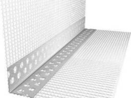 Профіль-вставка со стеклосеткой 10 см, пвх