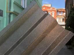 Профилированный поликарбонат шагрень бронзовый