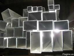 Труба алюминиевая профильная 100*50*2*6000 мм