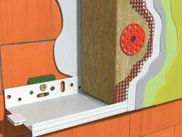 Профиля и комплектующие для системы утепления фасада
