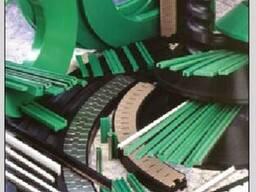 Профиля (полизены) для цепей пластинчатых и лент модульных