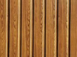 Декоративный профнастил С 10 под дерево, профлист стеновой