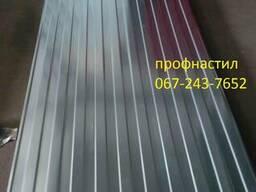 Профнастил цинк- 0. 5мм 2. 4м*0. 95м-170грн/лист! Доставка!