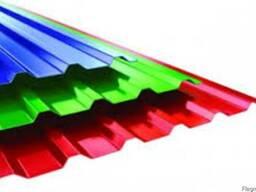 Профнастил цветной самые низкие цены - фото 2