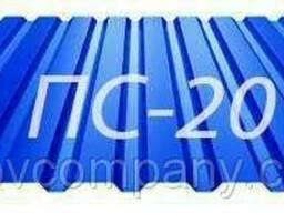 Профнастил для забора Тектум-С, ПС 20 Китай 0, 43 мм