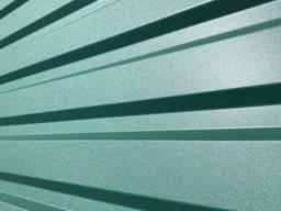 Профнастил матовый зеленый RAL 6005