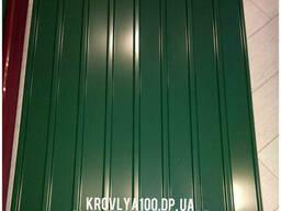 Зеленый профнастил для Вашего забора/крыши.