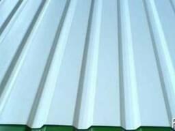 Профнастил профлист гладкий лист белый 9003 от завода