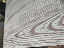 Профнастил ПС-8 0, 4 мм Ламинированный Беленый дуб с 3D эфектом