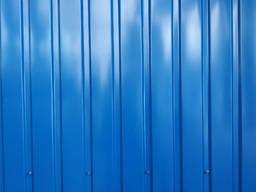 Профнастил синий RAL 5005, купить профнастил синего цвета