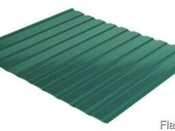 Профнастил стеновой С-10 RAL 6005 (зеленый) PE 0.45