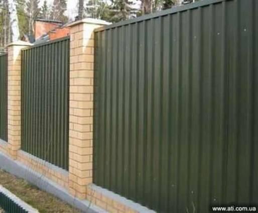 Профнастил стеновой (заборный) г. Кривой рог