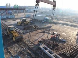 Производственная база 5030 метров с ж/д путями, 8.5 га.