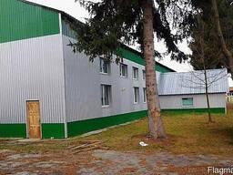 Производственный комплекс,склад в Житомирской области