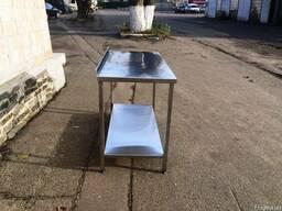 Производственный стол из нержавейки продам 1500х600