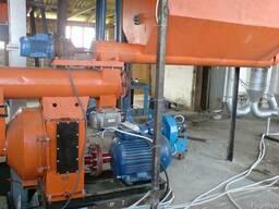 Блок гранулирования на базе пресса ОГМ 0, 8 (мощность 69. 7 кВ