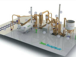 Производство гранул (пеллет) и брикетов. Оборудование.