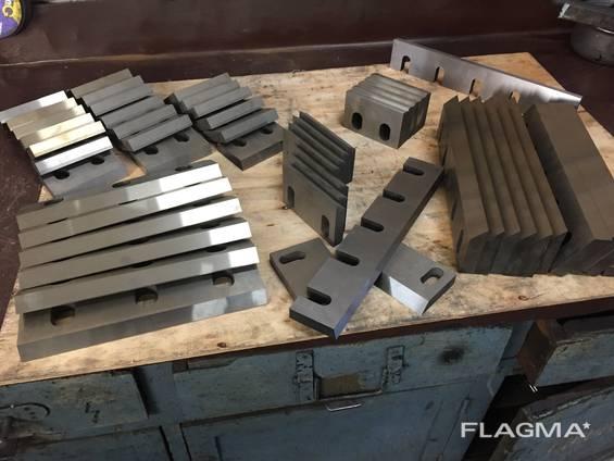 Производство ножей для дробильных установок