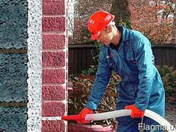 Утепление домов жидким пенопластом(пеноизолом)