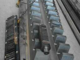 Производство реек зубчатых на портовые краны