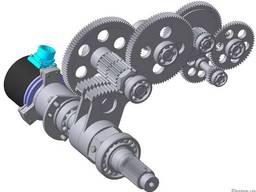 Производство шестерней, валов для механических узлов