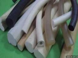 Производство силиконовых шнуров, профилей, колец и РТИ