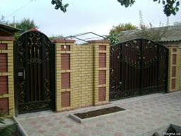 Производство сварных металлических дверей и ворот