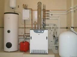 Прокладка отопления, водопровода, канализации. Теплый пол