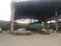 Промплощадка Каменское для Ремонта ЖД вагонов-Локомотивное депо