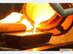 Промышленное литье стали и чугуна развесом до 1200 кг.