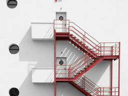 Промышленные лестницы, промышленная лестница