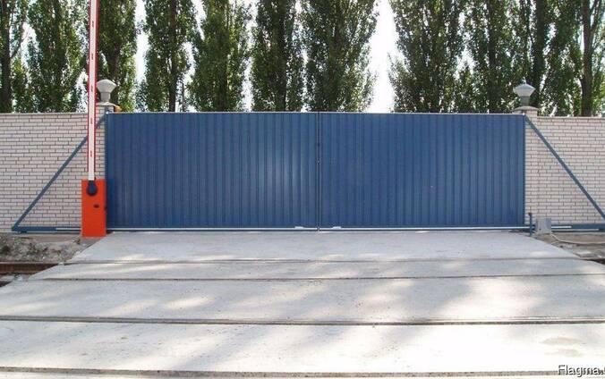 Промышленные откатные ворота в Киеве