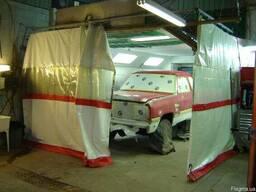 Промышленные шторы ( брезент, ПВХ тент)