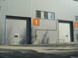 Промышленные ворота Алютех