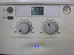 Промывка теплообменника от накипи газового котла Юнкерс