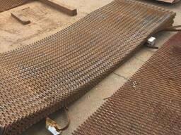 Просечно вытяжной лист ПВЛ стальной 22х72х8 мм купить