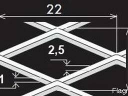 Просічно-витяжні листи TH MR22/12x2,5x1/1000x2000