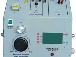 Проверки простых защит и автомат. выключат. DTE - 450/2000