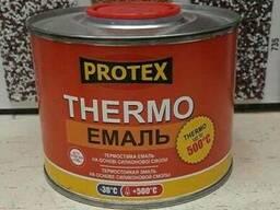 Протекс Термо-эмаль черная 500 С (0, 4кг)