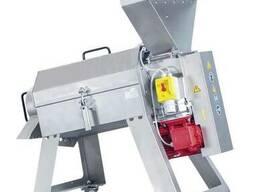Протирочная машина для яблок, слив, черешен 1000 кг/час