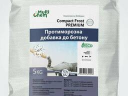 Противоморозная добавка для бетона, тротуарной плитки Compact Frost Premium, 5 кг