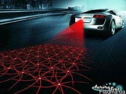 Противотуманный лазер для автомобиля и мотоцикла, габаритный