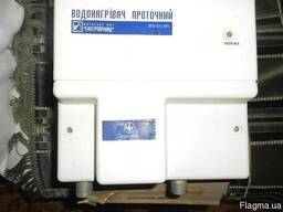 Проточний нагрівник води електричний