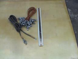 Провод силовой ШРПЛ 1х4,0 ЛПРГС 1х4,0 с зажимом «Крокодил»