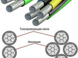 Провод СИП-4 2х25 для линий электропередач Гост (кабель. ..