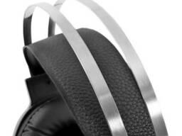 Проводные наушники с микрофоном Forev FV-G99 2х3.5 мм + USB Black