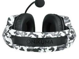 Проводные наушники с микрофоном Onikuma K8 1+2/3.5мм + USB Camouflage Grey