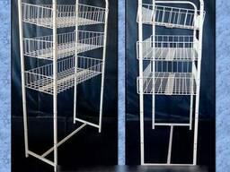 Проволочные стеллажи и различные конструкции. - фото 2