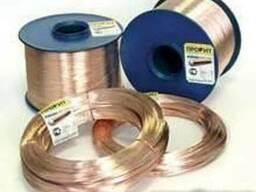 Проволока биметаллическая сталемедная БСМ-1 диам 3,0мм 4,0мм