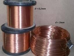Проволока медная 0. 15мм-6мм медь проволока М1М, М2Т